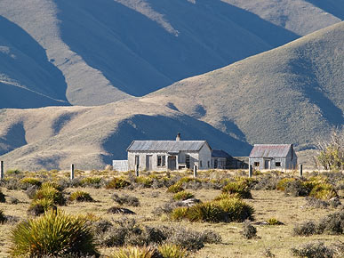Image of a station, Otago, South Island, New Zealand