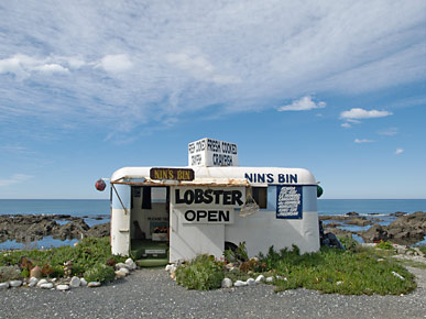 Image of a van, Kaikoura, South Island, New Zealand